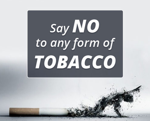 Tobacco day message from Slonkit